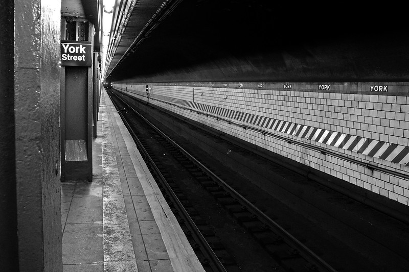York Street Subway Station - Brooklyn - 2011
