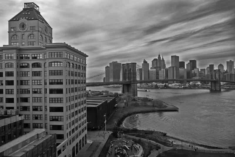 Brooklyn Bridge and Lower Manhattan - 2008