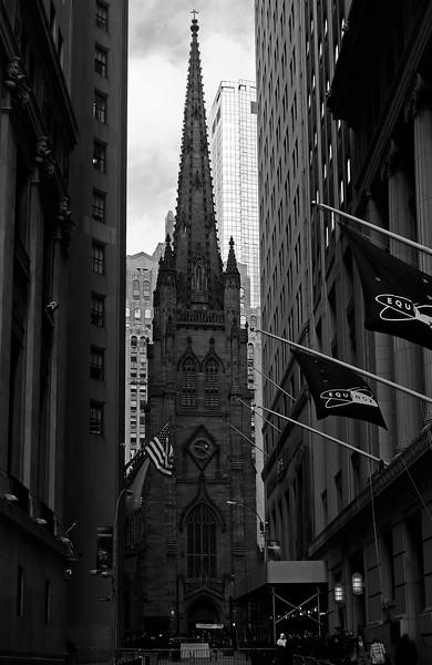 Trinity Church - Lower Manhattan - 2011