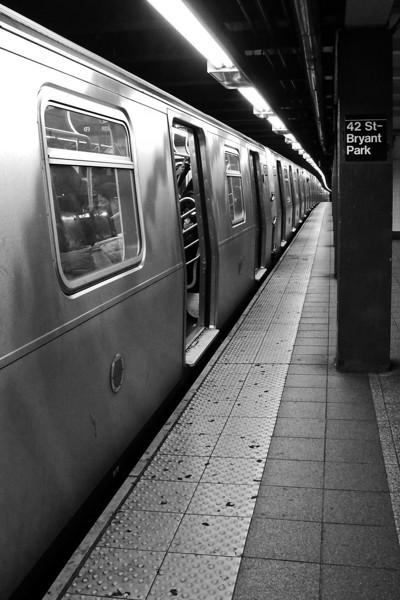 Bryant Park Subway Station - 2011