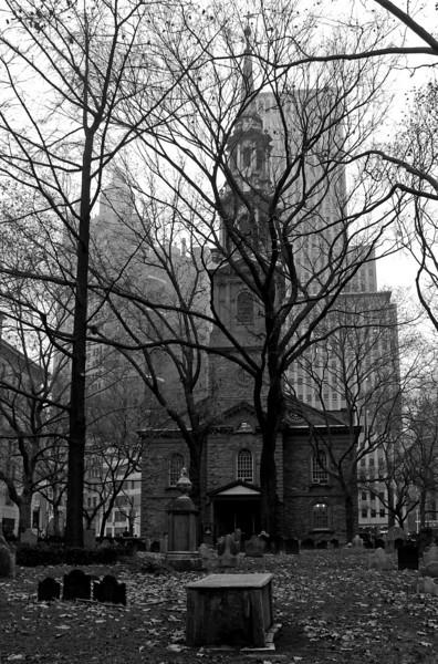 St. Paul's Chapel - Lower Manhattan - 2012