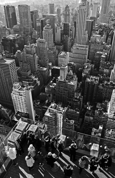 Southeast view from the Top of the Rock - 2011