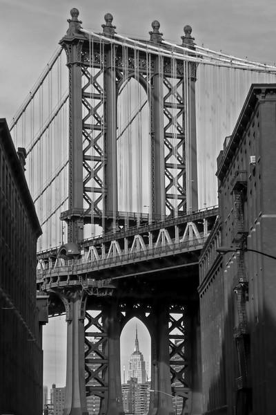 Dumbo and Manhattan Bridge - 2008
