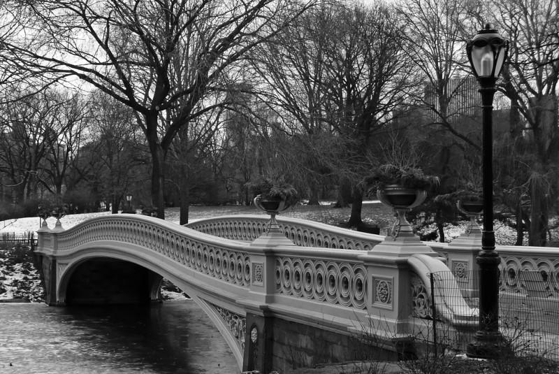 Bow Bridge - Central Park - 2009