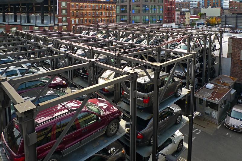 Parking Lot in Chelsea - 2011