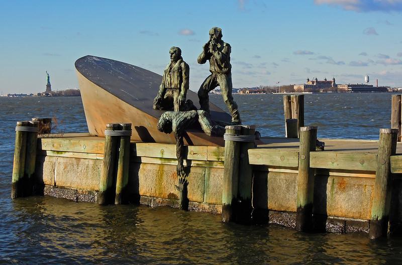 American Merchant Mariners Memorial - Battery Park - 2011