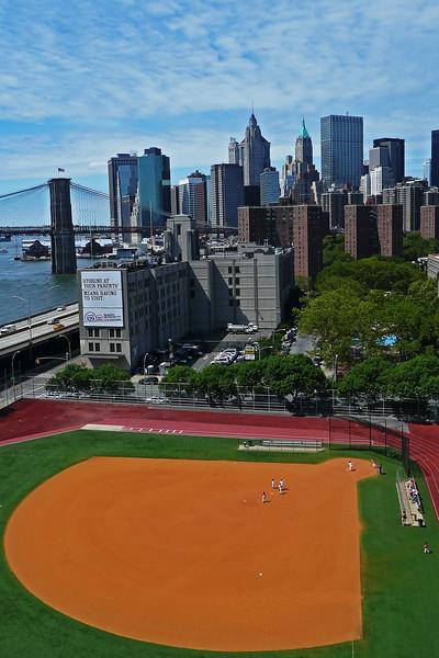 Ballfield in Lower Manhattan - 2010
