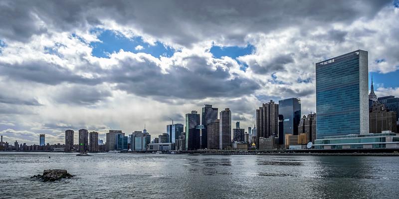 Manhattan from Roosevelt Island - 2018