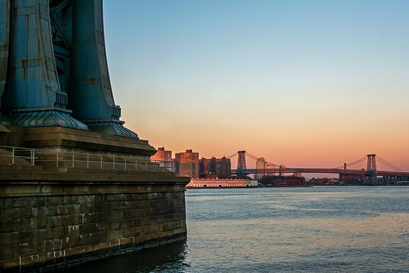 Manhattan and Williamsburg Bridges - 2015