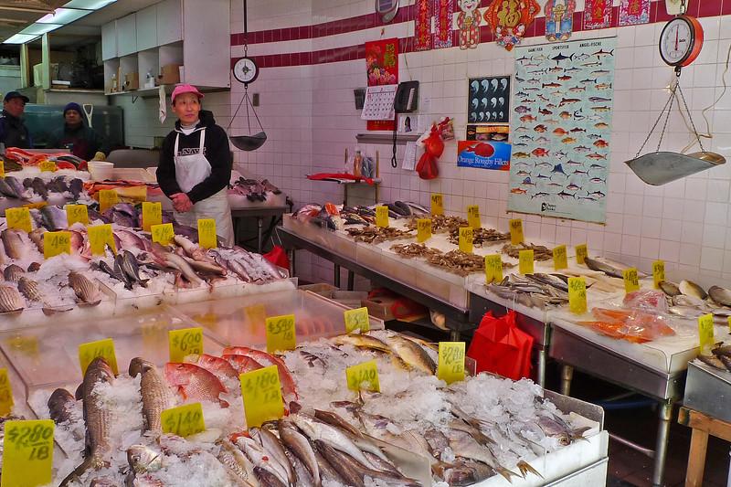Fish Market in Chinatown - 2010