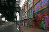The El at Five Pointz - Queens - 2008