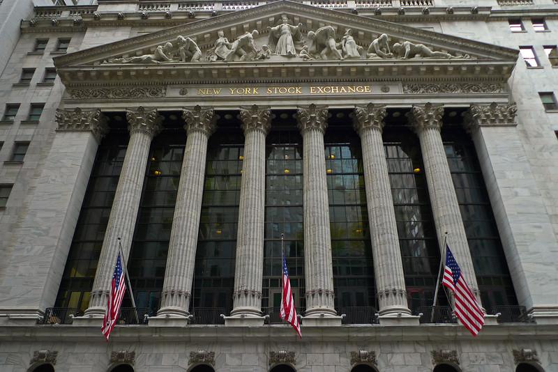 New York Stock Exchange - Lower Manhattan - 2011