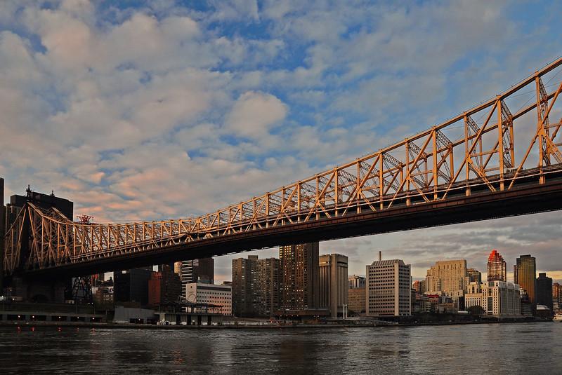 Queensborough Bridge and Upper East Side - 2009