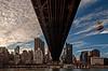 Queensborough Bridge and Manhattan from Roosevelt Island - 2014