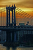 Manhattan Bridge and Brooklyn at sunrise - 2008