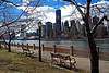 A view of Midtown from Roosevelt Island - 2013