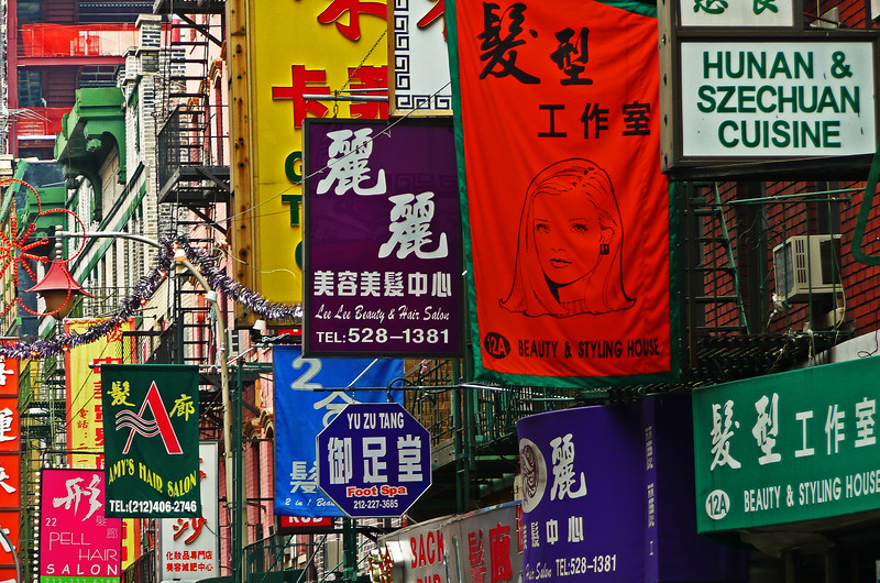 Signs in Chinatown - 2008