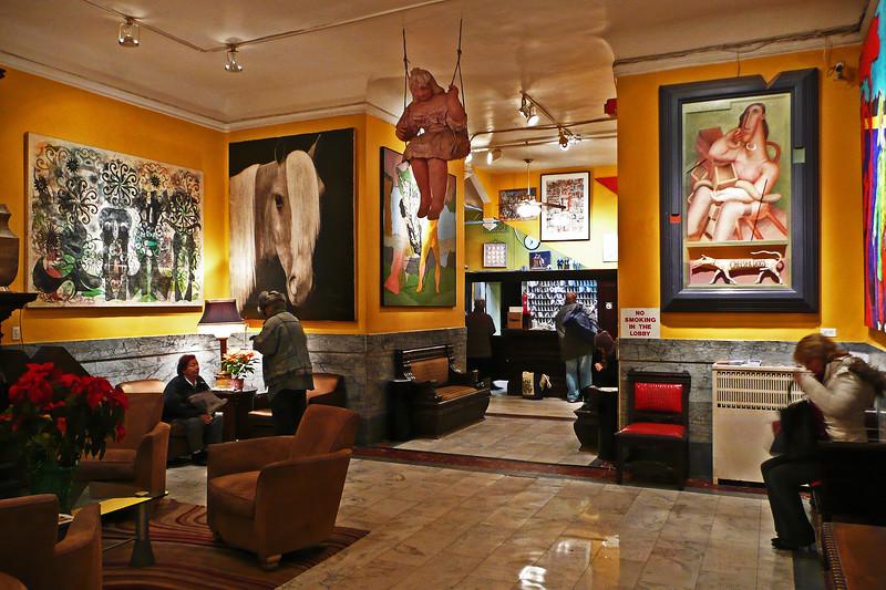 Chelsea Hotel Lobby - 2007