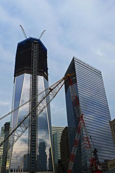 Freedom Tower under construction - Lower Manhattan - 2011