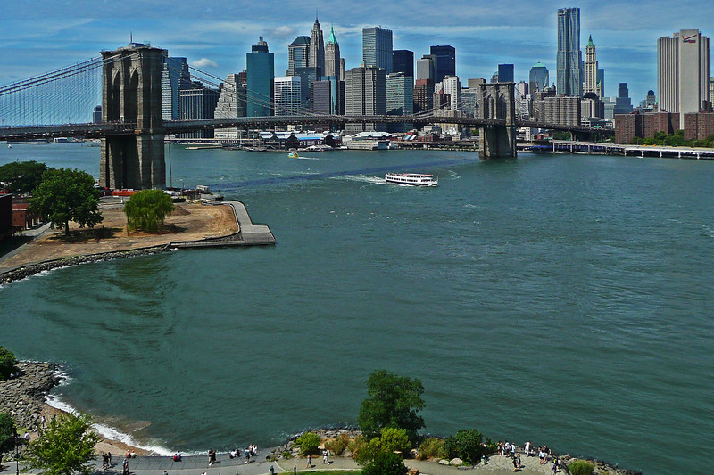 Brooklyn Bridge and Lower Manhattan - 2010