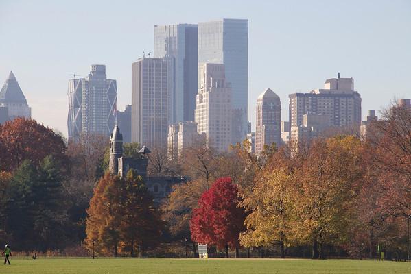 New York Fall Views
