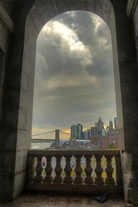 Looking towards Lower Manhattan