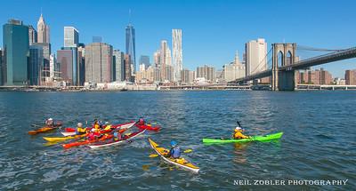 Kayaking in Brooklyn