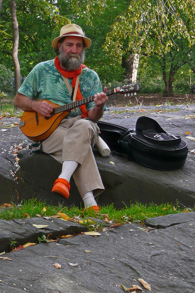 Performer in Central Park - 2008