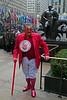 Dressed up for Valentine's Day at Rockefeller Center - 2008