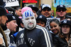 Yankees fans  at 2009 World Series Parade - Lower Manhattan - 2009