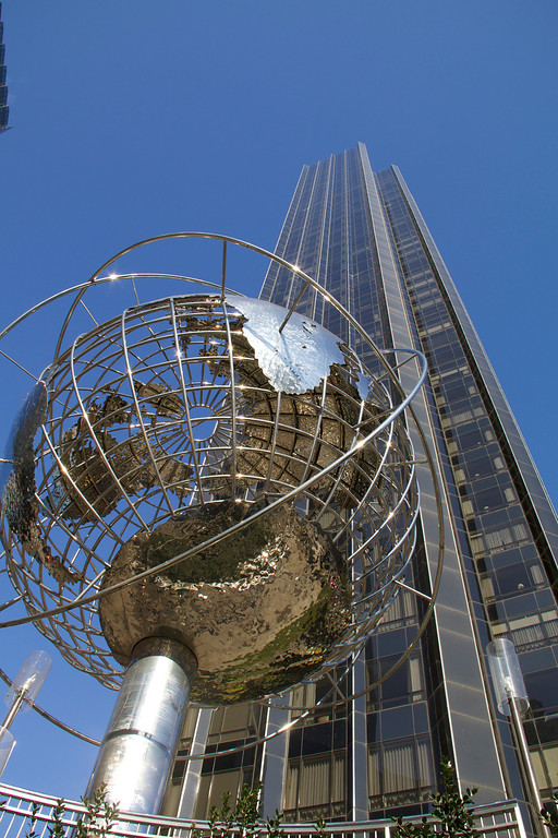 Trump Tower Landscape and Globe Sphere