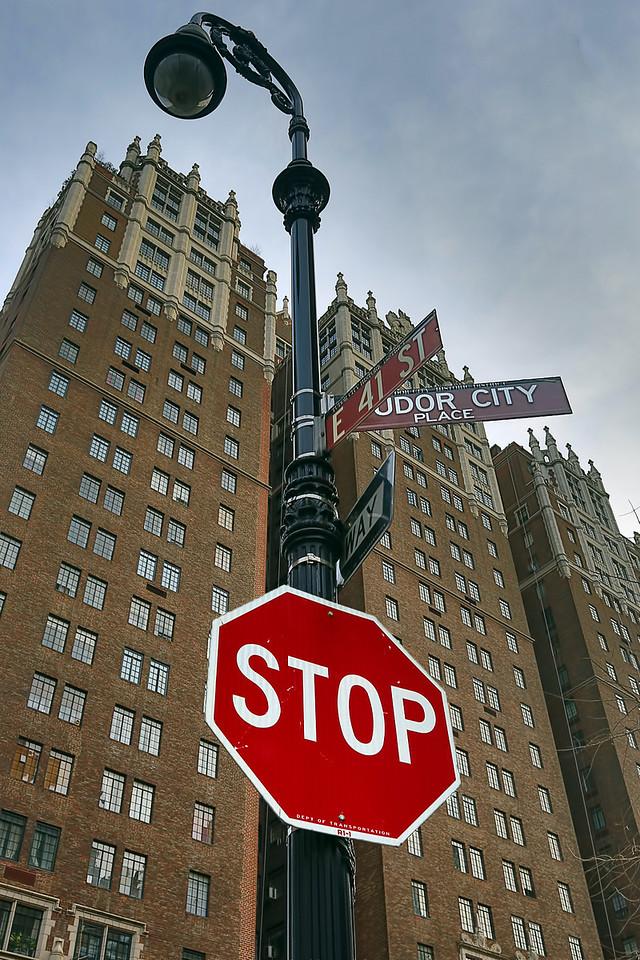 Tudor City. Our apartment is just around the corner.