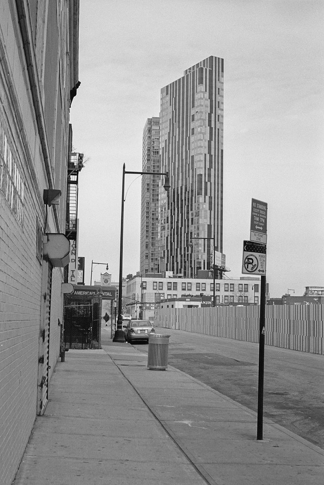 NYC, Brooklyn, February 2012, R2M Tri-X 800
