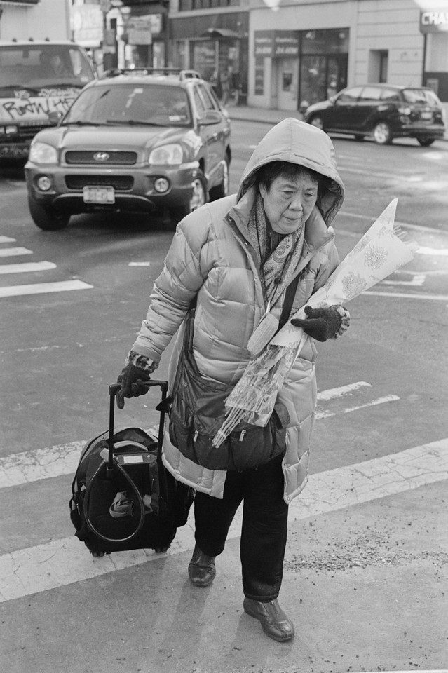 NYC, Chinatown, January 2012, R2M Tri-X 800