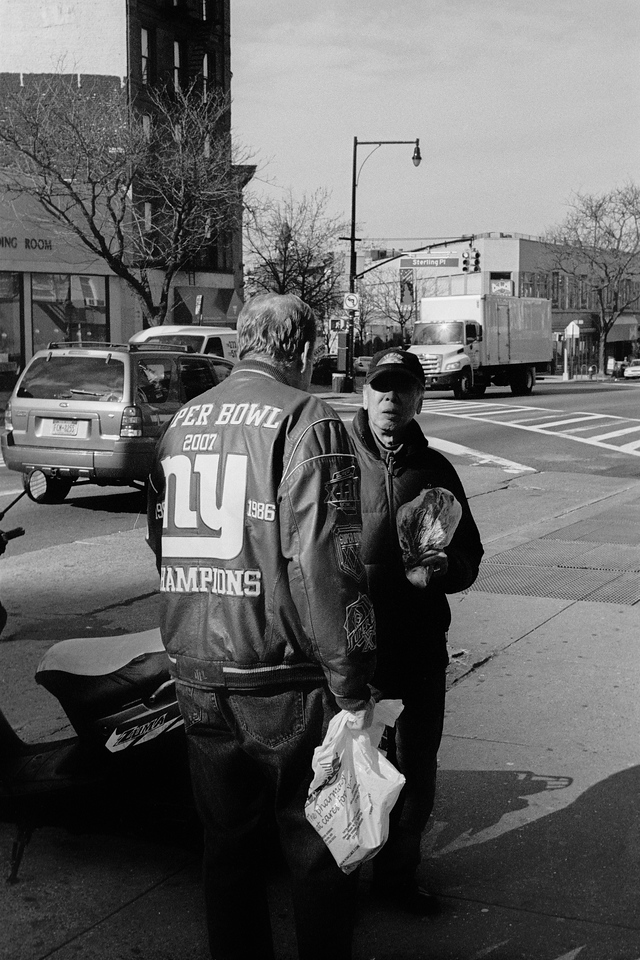 NYC, Brooklyn, January 2012, R2M Tri-X 800