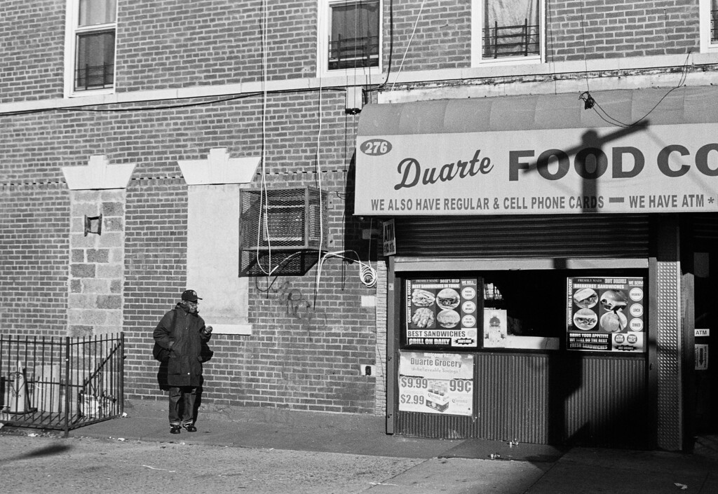 NYC, Brooklyn, January 2012, iiif Tri-X 800