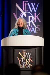 Rose Anderson of NYF at The 2016 New York Festivals  international Film & TV Awards; 5/19/2016