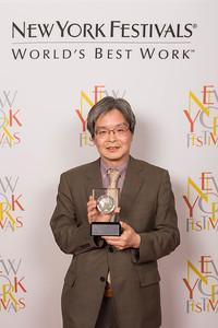 Nobumitsa Nagai , ENTERTAINMENT AWARD Winner for Memento Tracker Aiko Tanizaki, Silver at The 2016 New York Festivals International Film and TV Awards; 5/19/2016