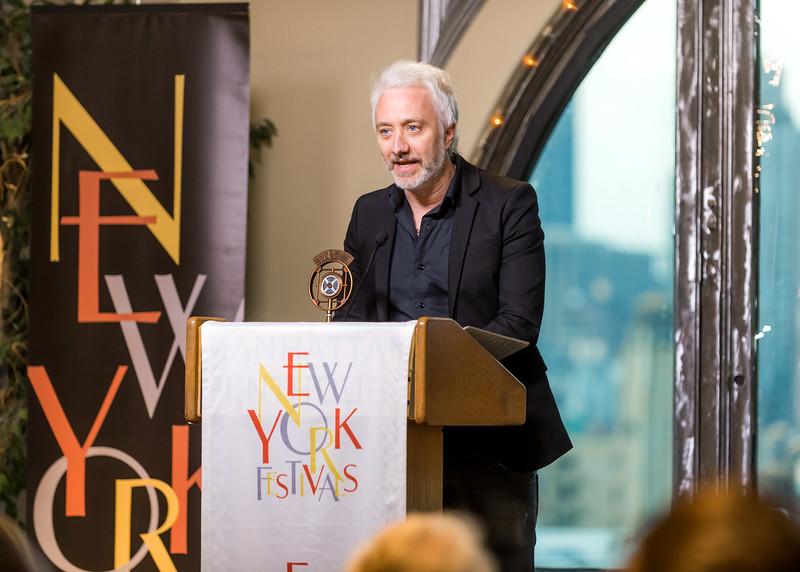 2016 NYF Radio Program & Promotion Awards, NYC; 6/20/2016