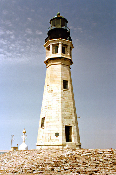 During the 1950's the old tower was used by the Coast Guard to store explosives.  In 1958 the Coast Guard announced plans to demolish the Main Light tower as part of a project to widen the harbor.  Public protest sparked a movement to save the tower and in the 1960's a restoration effort began.