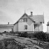 Old US Coast Guard photo of Crossover Island Light Station