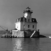 Old Coast Guard photo of the Esopus Meadows Lighthouse while it was active.