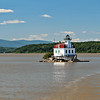 By the late 1860's the Lighthouse Board feared the ice would topple the lighthouse, so a request was made for funding to rebuild the Esopus Meadows Lighthouse.  Congress appropriated $25,000 for the project in 1870.