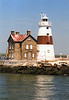 Fires broke out at the station in 1918 and 1921 and each time the Keepers helped fight the blaze and save the lighthouse.  Each time the tower was repaired and put back into service.  The lighthouse remained manned until December 1979 when the Fresnel lens was removed and a modern optic installed in the lantern.  In February 2007 the lighthouse was added to the National Register of Historic Places.