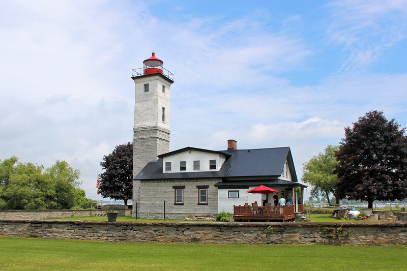 The lighthouse property was put up for auction and a winning sealed bid of $2,400 was made by the local Assistant Fire Chief Thomas Roethel and his wife Laurel.  They planned on renovating the property to use it as a summer home.
