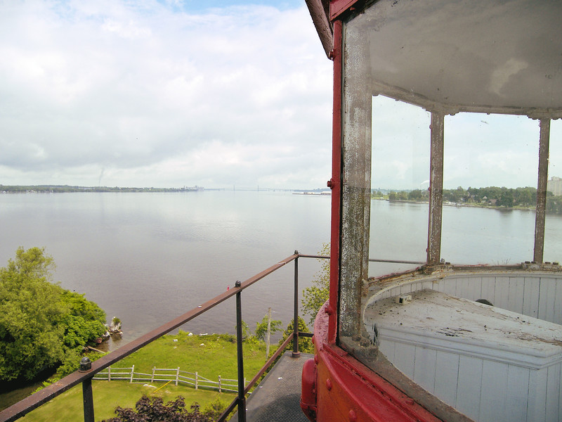 In 1942 the lighthouse was automated and the Keeper was removed.  The property was rented out to tenants until the lighthouse was discontinued by the Coast Guard on June 1, 1961.  In 1964 the property was offered to the City of Ogdensburg by the GSA for $900, but the offer was declined.