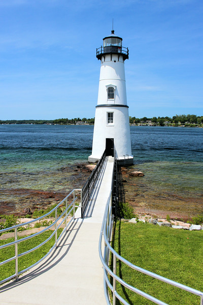 Johnston returned to the Thousand Islands eventually becoming the Rock Island Lighthouse keeper.  Johnston served until March 1861 when the Lincoln administration took over and replaced political appointees.
