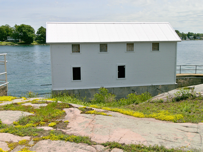 **The 1920 Boathouse**  In 2010 a much needed $1.5 Million renovation of the site began.  After three years of hard work the island was opened to the public as the Rock Island Lighthouse State Park in June 2013.