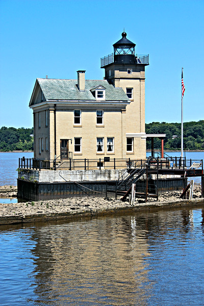 In 1984 the Hudson River Maritime Museum (HRMM) in Kingston entered into a 30 year lease agreement with the Coast Guard and began to restore the structure.