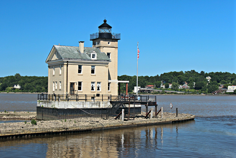 Catherine's son born at the lighthouse, James, was appointed an Assistant Keeper in 1880.  Upon Catherine's retirement in 1907 James was named the Head Keeper.  James remained Keeper until 1923 ending the Murdock family's 67 year reign as the Keepers of the Rondout Lighthouse.